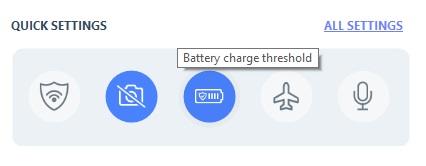 Aplikasi pengatur pengisian baterai